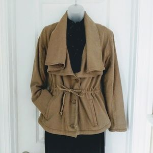 Lucky Brand Draped Collar Jacket Size Small
